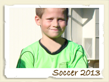 Soccer Page - 2013